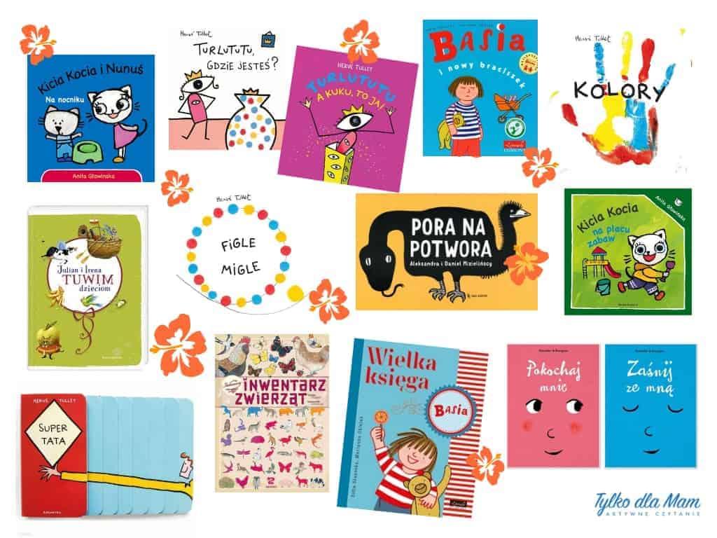80 książek dla dzieci od roku do 8 lat. Jak wybrać najlepszą?