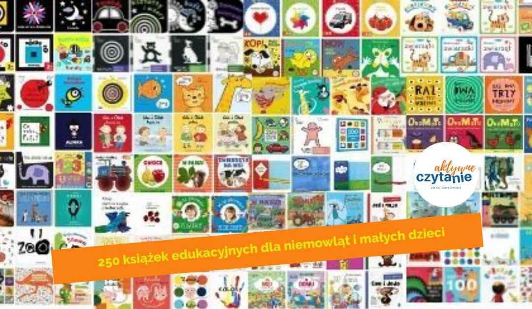 Książeczki edukacyjne dla niemowląt imałych dzieci