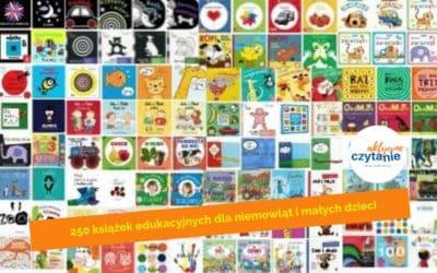250 książek edukacyjnych dla niemowląt imałych dzieci