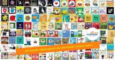 250 książek edukacyjnych dla niemowląt i małych dzieci
