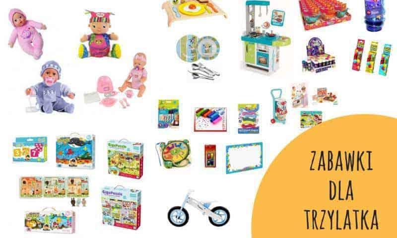Zabawki dla trzylatka