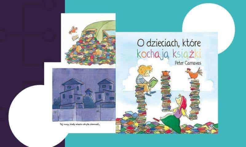 Odzieciach, które kochają książki