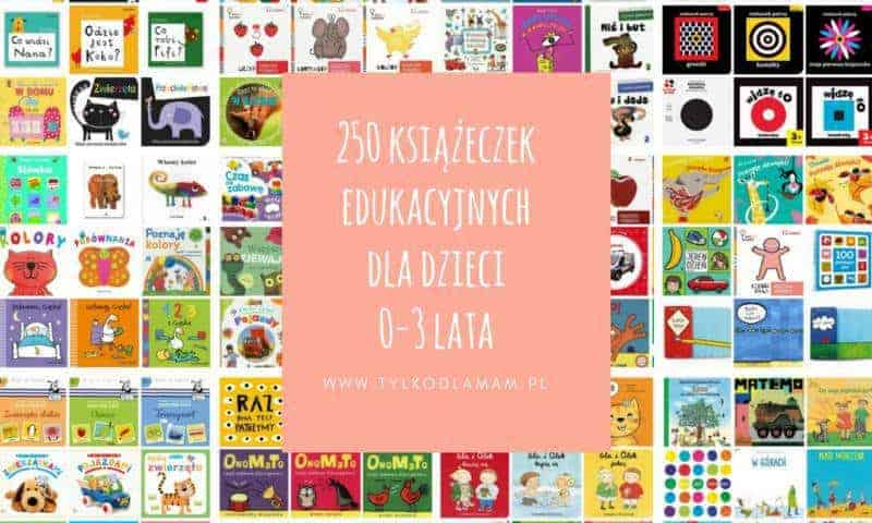 250 książeczek edukacyjnych dla niemowląt imałych dzieci