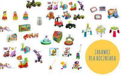 Zabawki dlarocznego dziecka