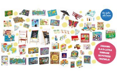 Zabawki dlapięciolatka. Rozwój ipotrzeby dziecka 5-lat