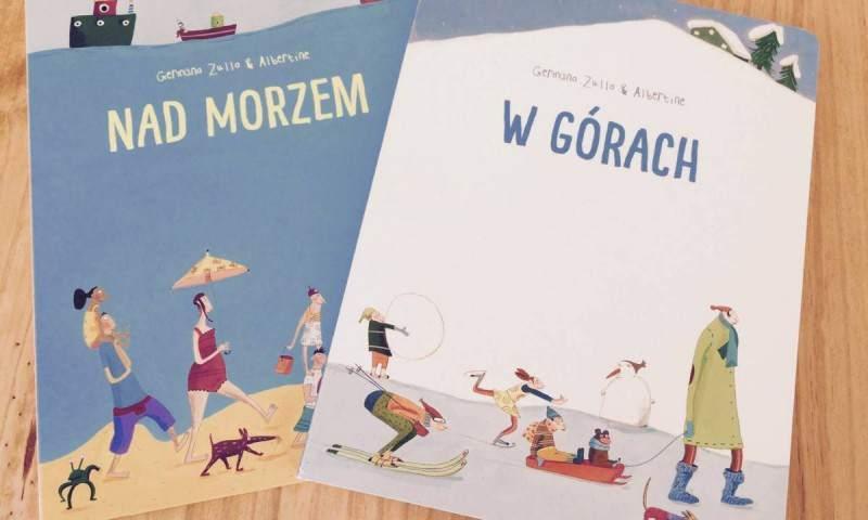 Picture books: Nadmorzem, Wgórach