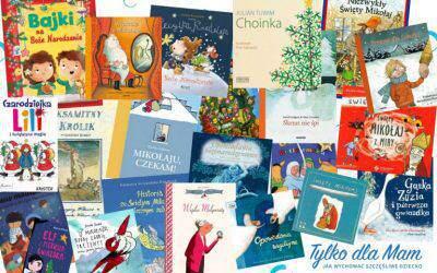 Zebrałam wjednym miejscu najpiękniejsze książki oBożym Narodzeniu iŚwiętym Mikołaju