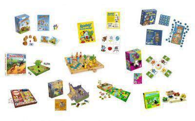 Najciekawsze gry planszowe dla najmłodszych iprzedszkolaków. Mojeulubione rodzinne planszówki