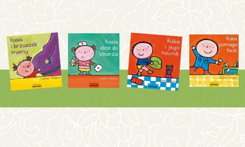 Seria książek dla 1-3 latków, pomagająca oswoić nieznane sytuacje (zfilmem)