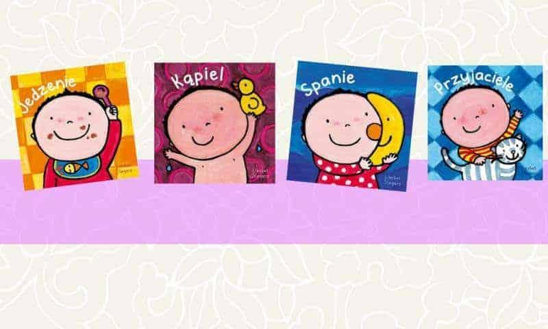 Seria dla najmłodszych: Jedzenie, Kąpiel, Spanie, Przyjaciele (zfilmem)