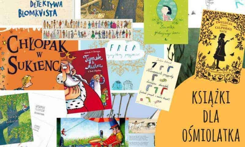 Książki dla ośmiolatka