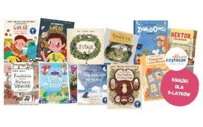 Ciekawe imądre książki dla pięciolatka