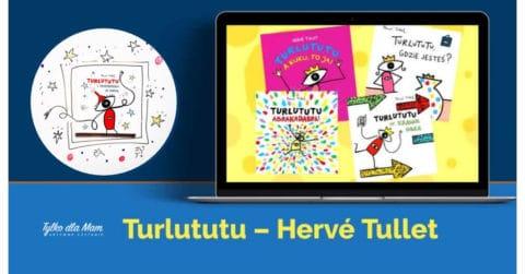 Turlututu i przepraszam za pardą Herve Tullet ksiązki dla dzieci