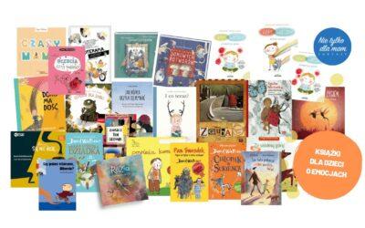TOP 40 Książki dla dzieci oemocjach. Alenietakie przesłodzone