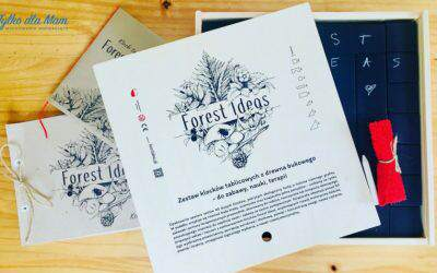 Klocki Tablicowe Forest Ideas