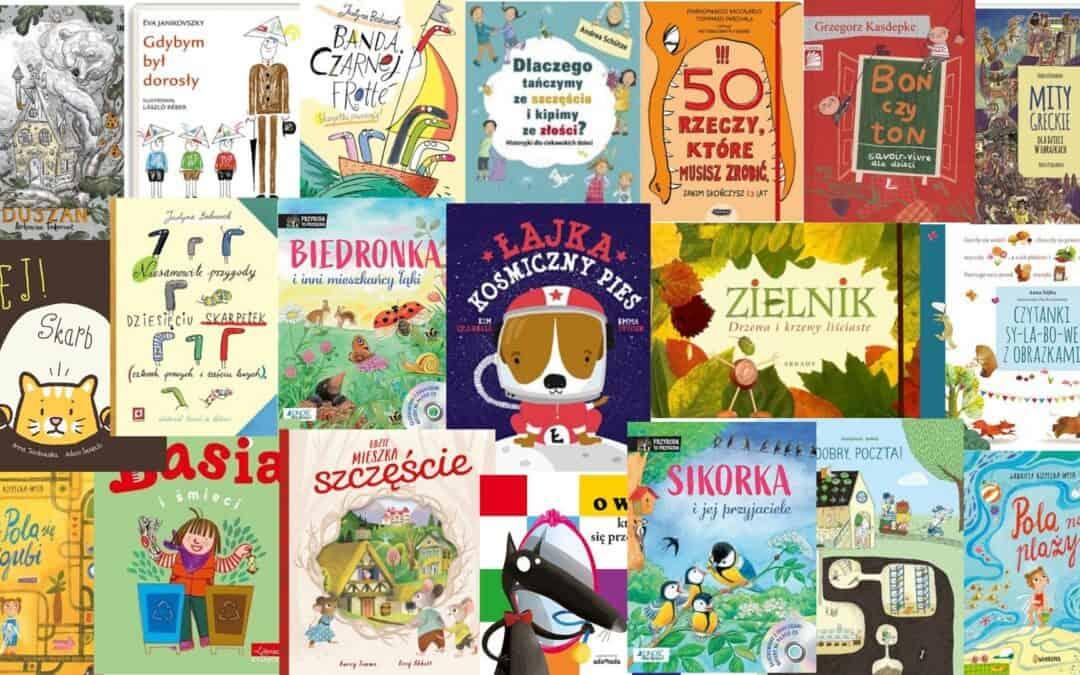 Książki nazakończenie roku dla przedszkolaka iucznia zamniej niż 25 zł