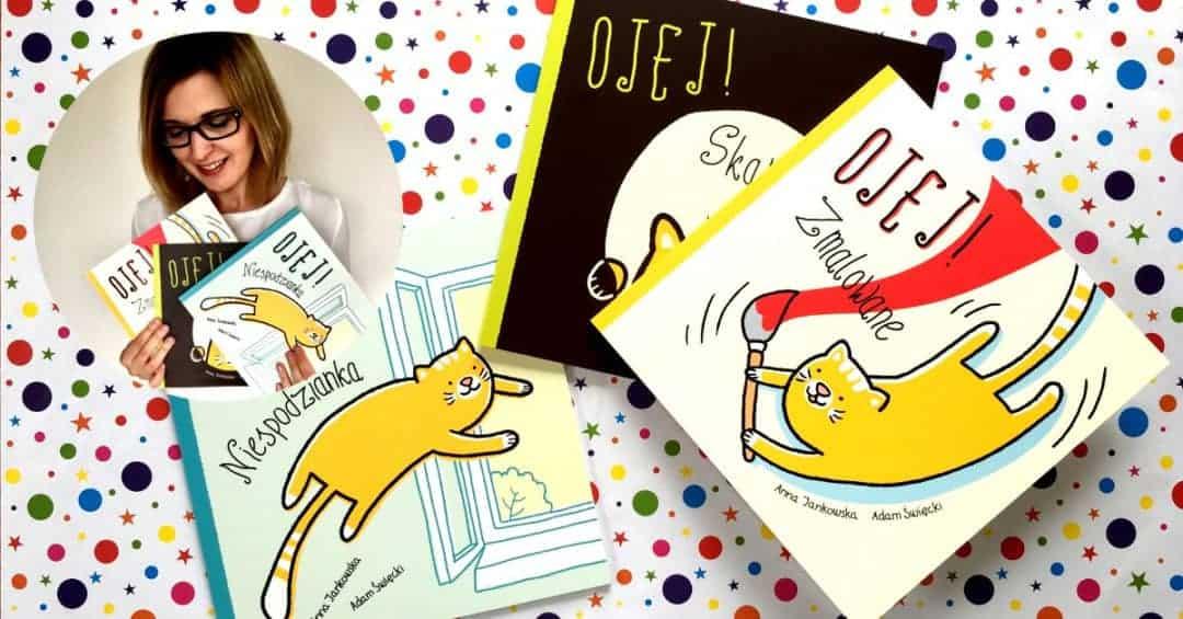 Ojej Skarb Ojej zmalowane ojej niespodzianka komiks dla dzieci książki dla dzieci