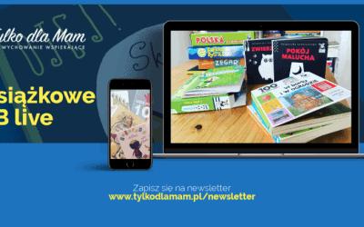 Aktywne Czytanie live. Książki dla niemowlaków imaluchów