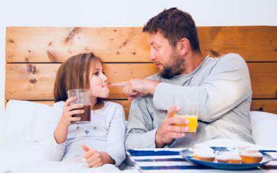 """Cozrobić kiedy dziecko kilka razy wychodzi złóżka przedzaśnięciem izawsze madozałatwienia """"ważne sprawy""""?"""