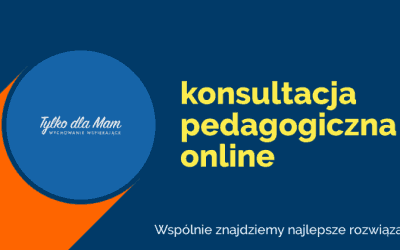 Konsultacja pedagogiczna online