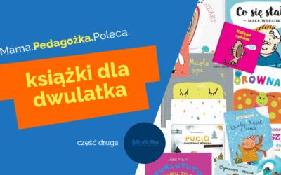 24 książki dla książki dla dwulatka