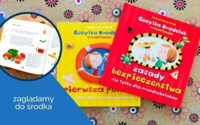 """Cecylka Knedelek: """"Zasady bezpieczeństwa"""" i""""Pierwsza pomoc"""""""