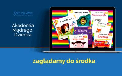Akademia Mądrego Dziecka. Książki zdziurami iruchomymi elementami