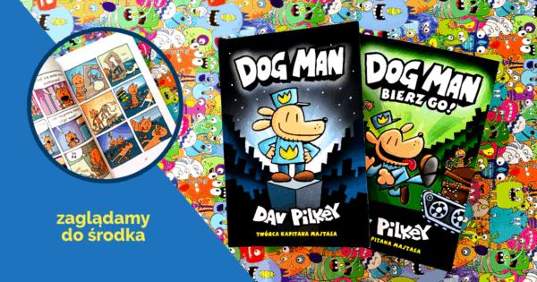 Dogman ksiązki dla dzieci komiks