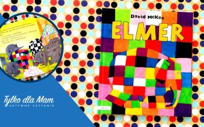 Elmer słoń wkratkę