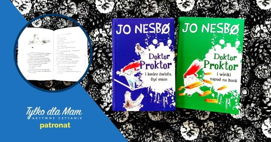 Doktor Proktor książki dla dzieci książka dla 10 latka