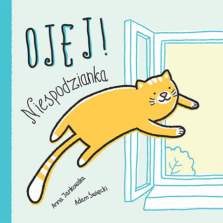 Ojej Niespodzianka ksiązki dla dzieci komiks