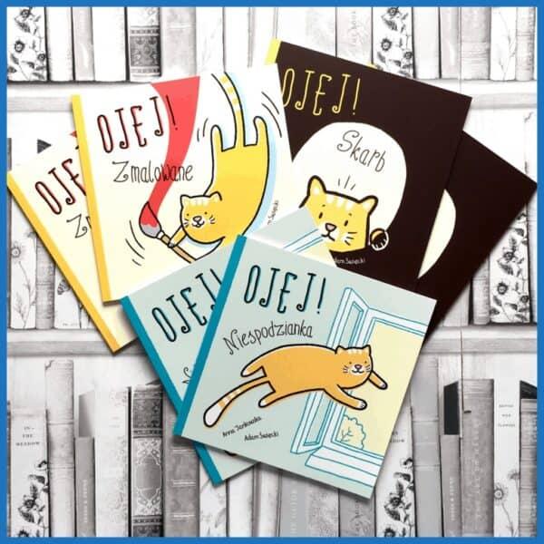 OJEJ skarb niespodzianka ksiązki dla dzieci