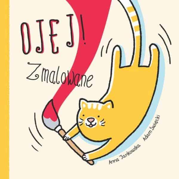Ojej Zmalowane ksiązki dla dzieci komiks