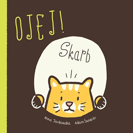 Ojej Skarb ksiązki dla dzieci komiks 3 lata kot
