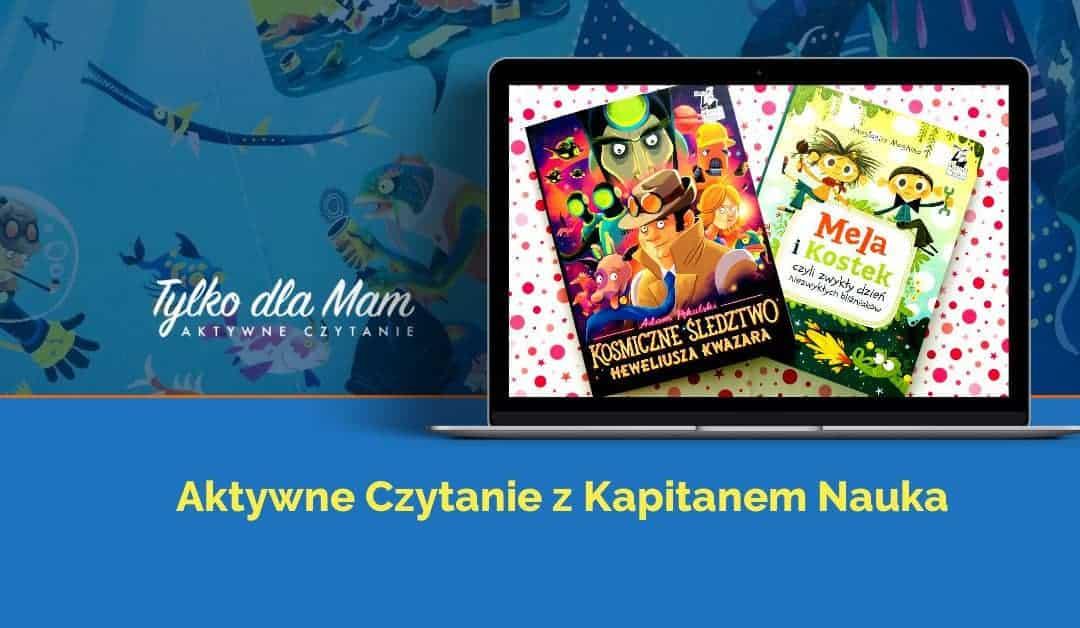 "Silent booki doaktywnego czytania: ""Mela iKostek"" i""Heweliusz Kwazar"""