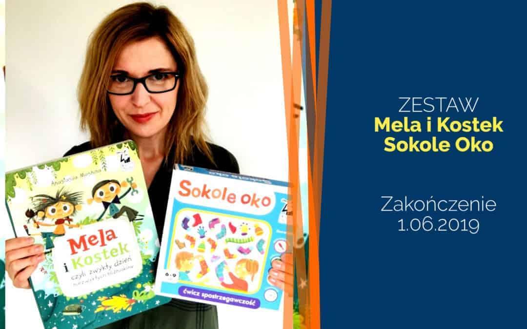 ZESTAW: Mela iKostek + Sokole Oko – rozdanie