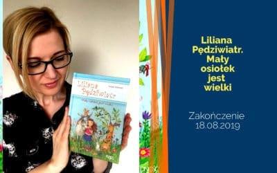 Liliana Pędziwiatr. Mały osiołek jest wielki – rozdanie