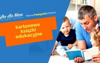 Kartonowe książki edukacyjne dla dzieci