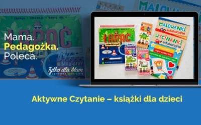 Wycinanki, quizy, malowanki izagadki –książki dla dzieci doaktywnego czytania