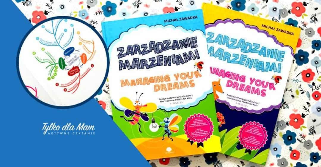 Zarządzanie marzeniami ksiązka dla 6 latka książki dla dzieci