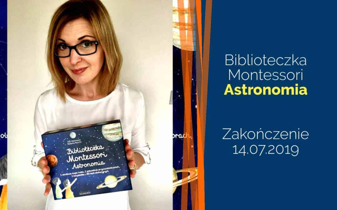 """Biblioteczka Montessori """"Astronomia"""" – rozdanie"""