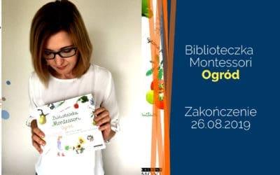 """Biblioteczka Montessori """"Ogród"""" – rozdanie"""