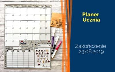 Planer Ucznia – rozdanie