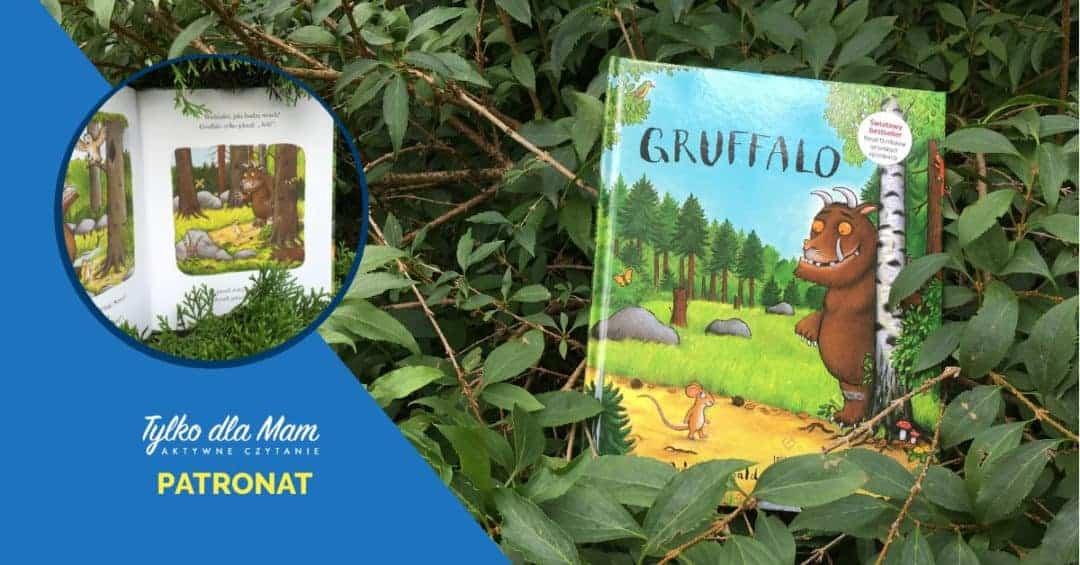 Gruffalo książki dla dzieci ksiązka dla 3 latka