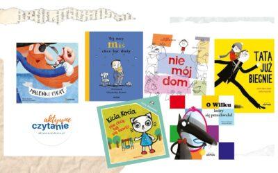Książki dla dzieci onowych sytuacjach itrudniejszych emocjach