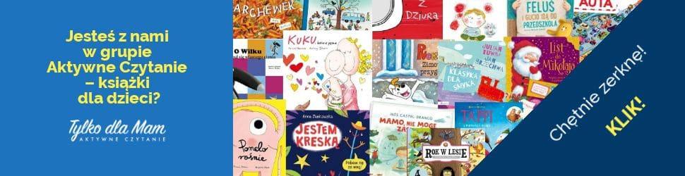 grupa aktywne czytanie książki dla dzieci