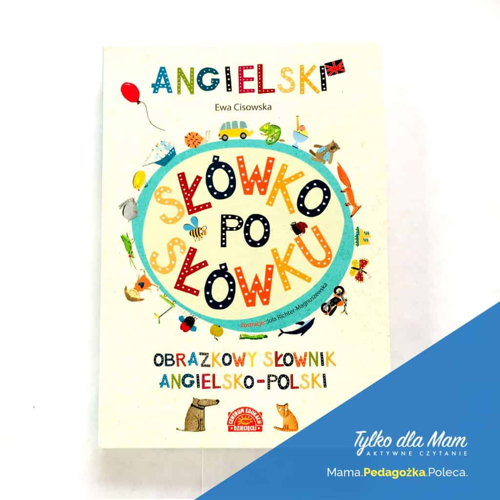 Angielski Słówko posłówku ksiązka dla 2 latka