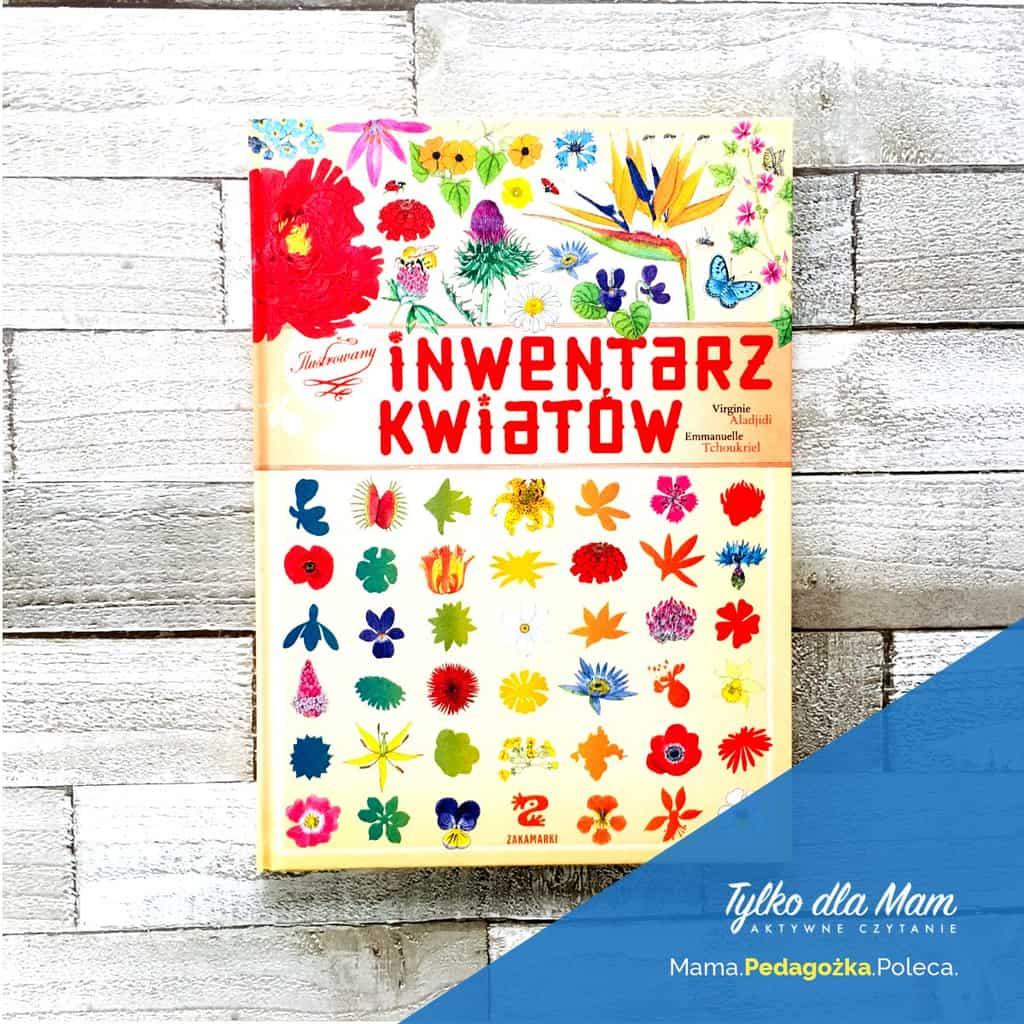 Ilustrowany inwentarz kwiatów ksiązki dla dzieci 1