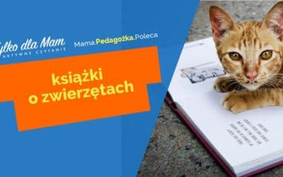 Książki dla dzieci ozwierzętach