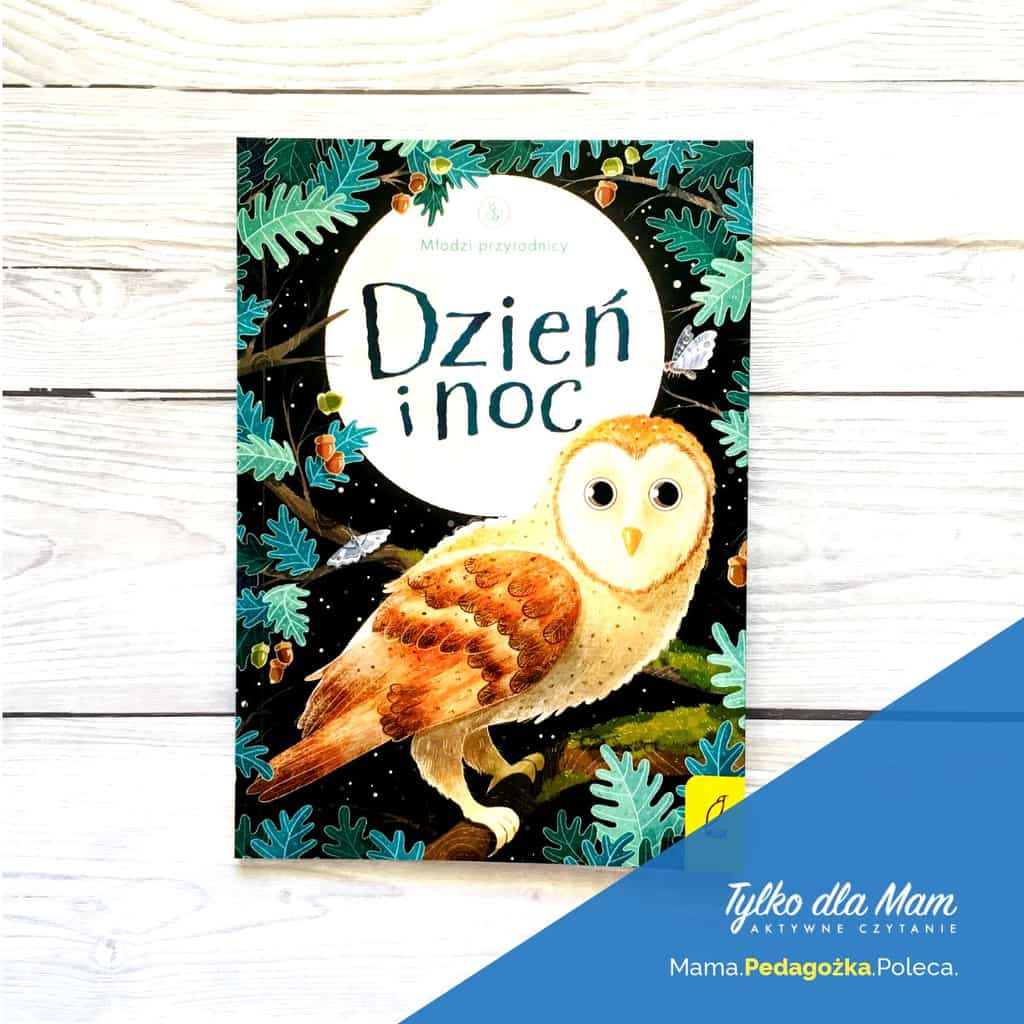 Młodzi przyrodnicy. Dzień inoc ksiązki dla dzieci ozwierzętach